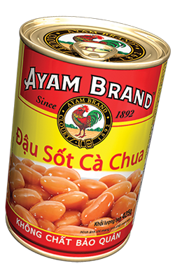 Đậu Sốt Cà Chua Ayam Brand 425g