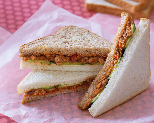 Sandwich cá trích